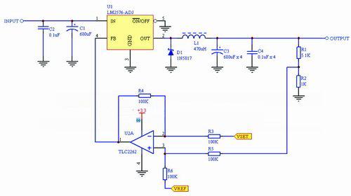 图2 降压型(buck)基本电路