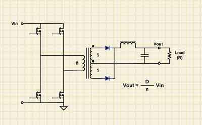 图5 llc谐振半桥拓补适合需要高输出电压的应用