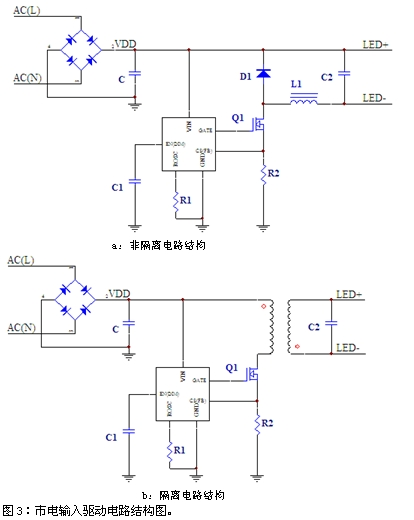 离线式led驱动电路设计