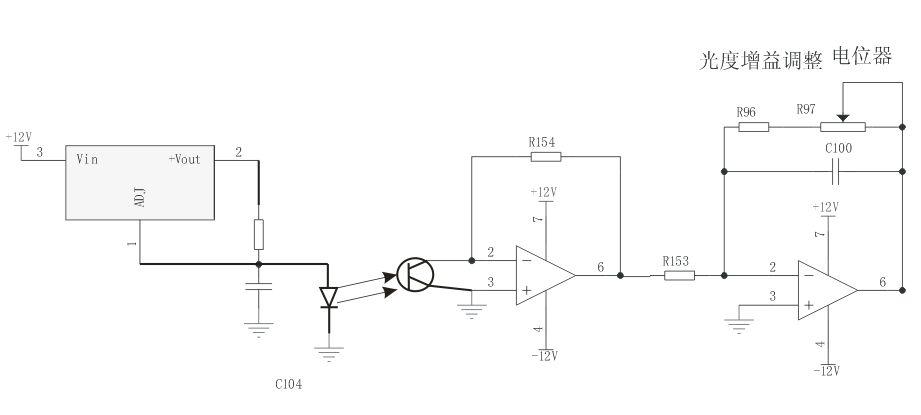 恒流源一般采用专用的电源电路进行匹配,一般导通的时候发射管电压为2