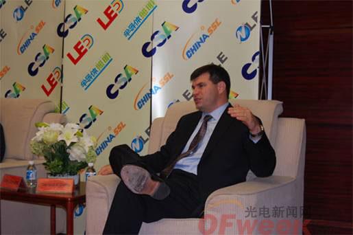 GE Lumination负责LED技术副总裁Gerald E. Duffy