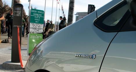 纽约建成首座太阳能动力电动汽车充电站