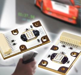 欧司朗专门针对微型投影机应用设计的LED光源模块