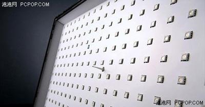 大尺寸电视要使用大量的LED元件