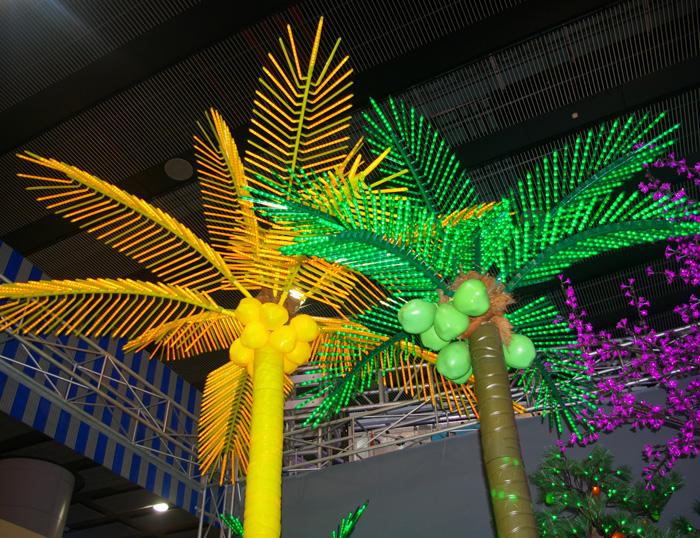 椰树装饰灯