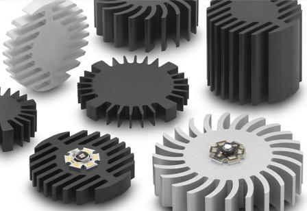 Fischer Elektronik圆型散热片系列样品