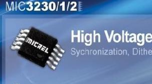 MIC3230/31/32系列LED驱动器新品