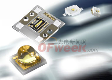 OSLON MX ECE,欧司朗广泛产品组合的新成员,是专为汽车行业量身打造的 LED 解决方案。图片来源:欧司朗