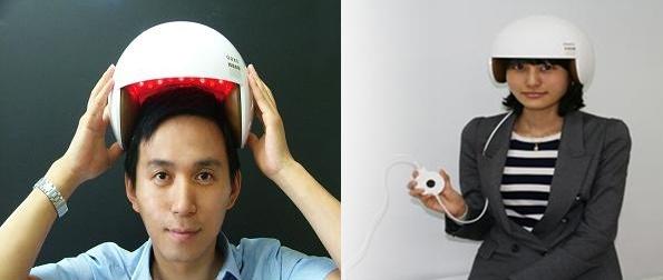 韩Won Technology公司开发出安全帽型生发促进激光医疗设备