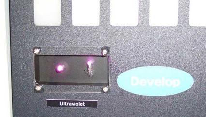 玻璃封装的紫外LED