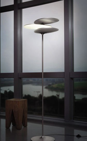 可旋动式 互动式设计LED立灯