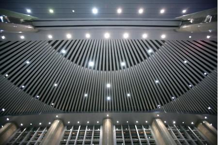 津火车站灯光照明效果