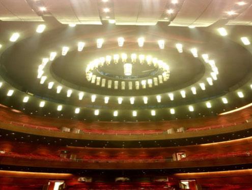 重庆大剧院艺术灯具设计方案图片