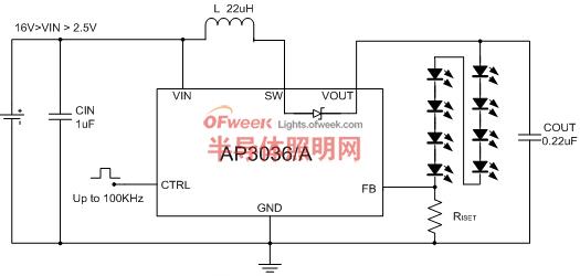 AP3036/A 典型应用