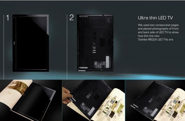 《亚博》东芝LED电视:薄到不可思议