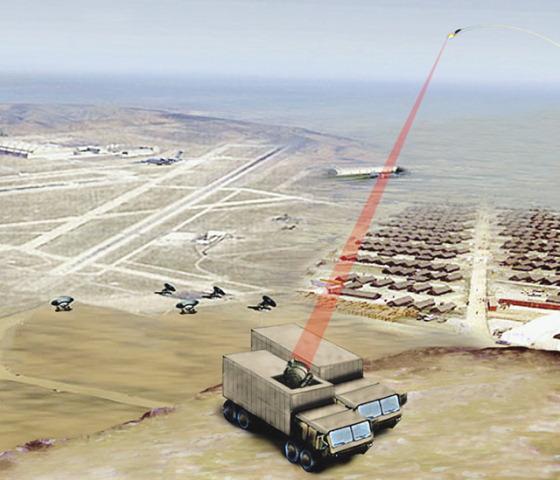 自由电子激光武器
