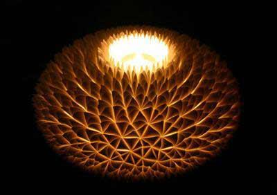 LED菊花台灯