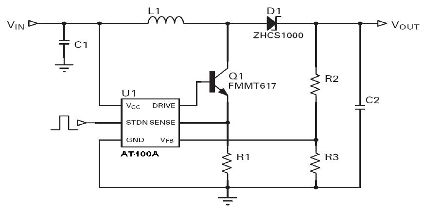 电压转换应用电路