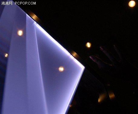侧光式LED布局示意图