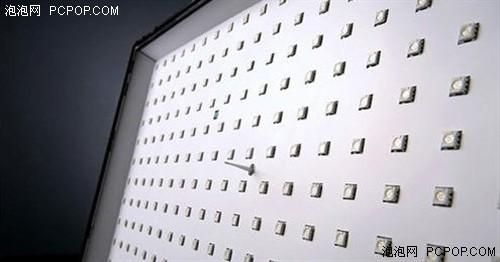 直下式LED布局示意图