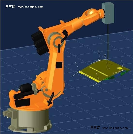 可编程式激光焊接技术示意图