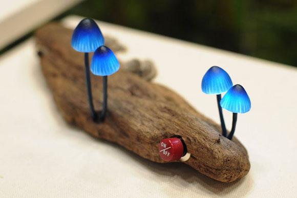 蘑菇LED灯