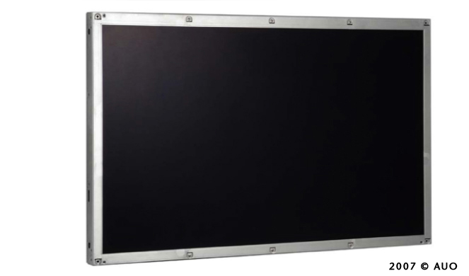液晶显示器的构造如同三明治一般,将液晶夹在两片玻璃基板之间,这两片玻璃基板就是TFT Array玻璃与彩色滤光片。 TFT Array玻璃上面有无数的画素(pixel)排列,彩色滤光片则是画面颜色的来源,液晶便夹在TFT Array以及彩色滤光片之间。当电压施于TFT(晶体管)时,液晶转向,光线便穿过液晶在面板上产生一个画素,而此光源则是由背光模块负责提供。此时,彩色滤光片给予每一个画素特定的颜色。结合每一个不同颜色的画素所呈现出的,就是面板前端的影像。