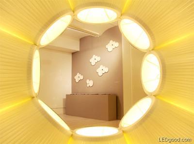 天旋地转的摩天轮LED灯饰