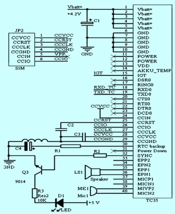 基于gsm模块的电力变压器防盗系统