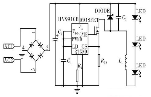 白光led驱动电路的设计