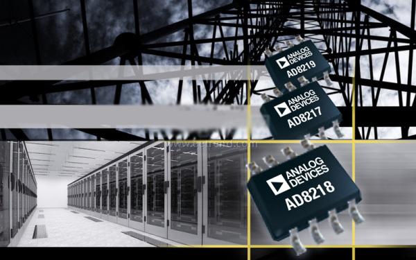 ADI 零漂移高带宽的电流检测放大器 AD8218