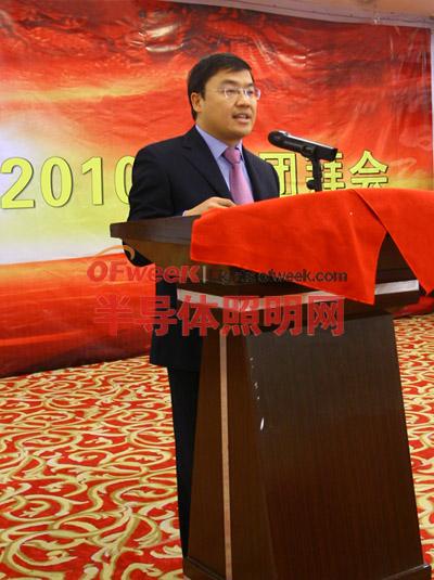 九洲光电科技股份有限公司董事长谢拥军先生