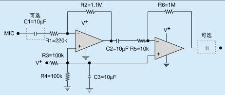 低噪声前置放大器电路的设计方法