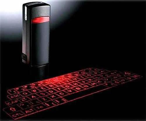 激光红外投影键盘