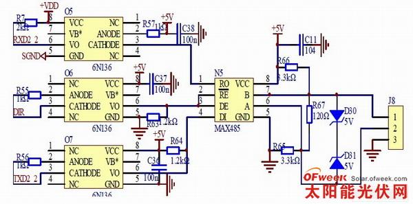 gsm a6与单片机接线图