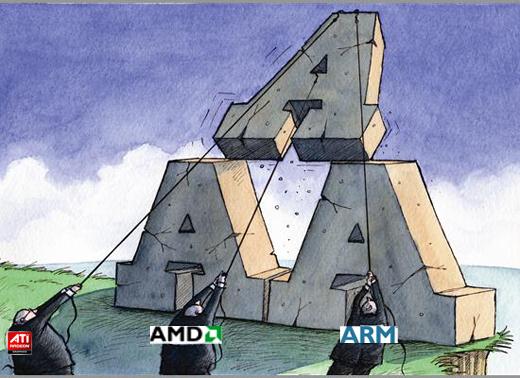 为什么ARM-AMD联姻更被看好?