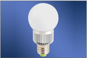 典型的LED球泡灯