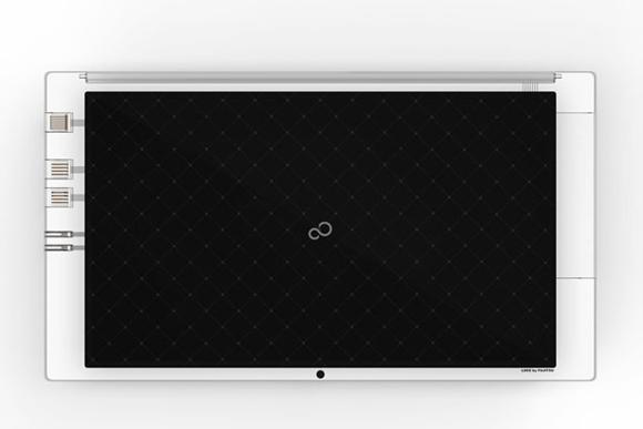 设计师andrea ponti设计制作了这个外型通透,时尚纤薄的笔记本电脑图片