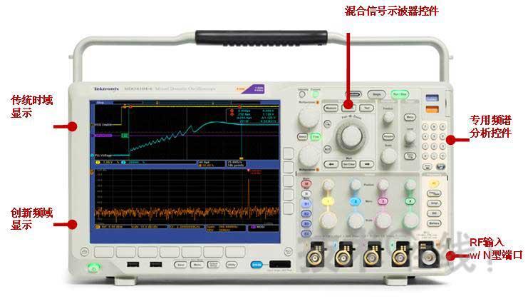 """下变频电路,前置放大器及rf步进衰减器,""""不过不是传统示波器里fft的功"""