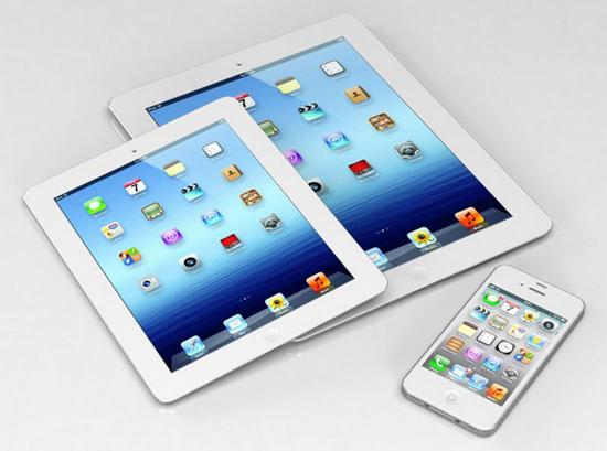 传有人已接触iPad mini并断言将比iPad更火