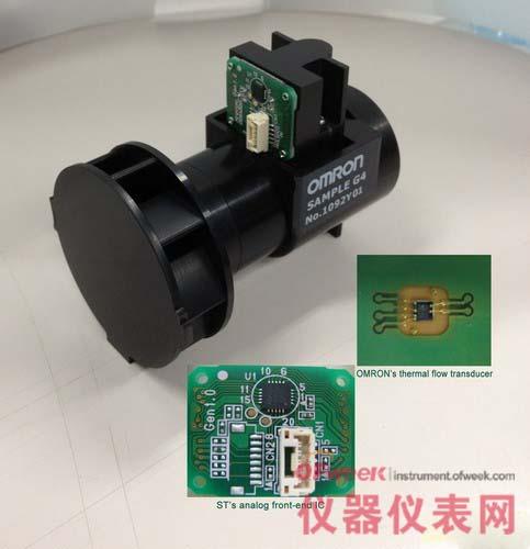 欧姆龙与意法半导体联合推出智能燃气表传感器