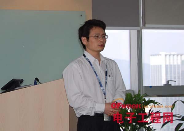ADI公司现场应用经理 章新明(Eagle Zhang)
