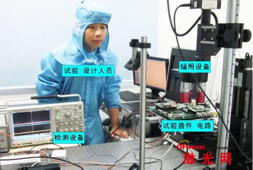 脉冲激光单粒子效应试验典型场景