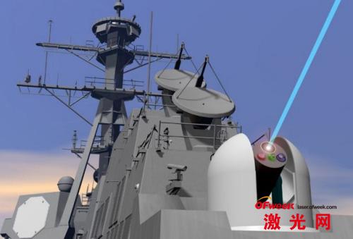 美国舰船将很快装备可攻击潜在威胁的激光武器