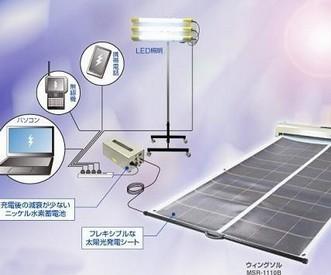 日本公司推出可卷太阳能电池