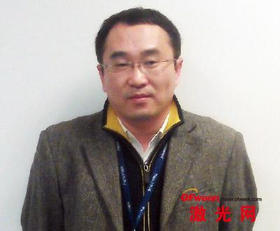 松下电器机电(中国)有限公司FA事业所营业总括部市场开发部经理汪勍先生