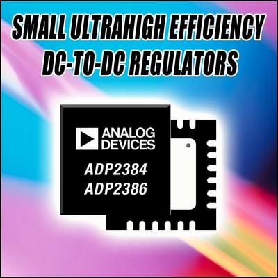 ADI推出同类产品中效率最高的开关稳压器