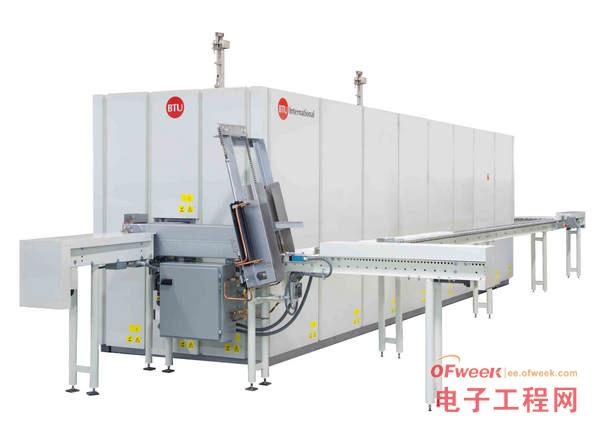 BTU国际公司向中国客户运送推板炉