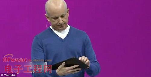 微软Surface发布会上成功死机