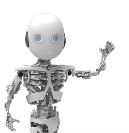 瑞典人工智能实验室打造人形机器人 图